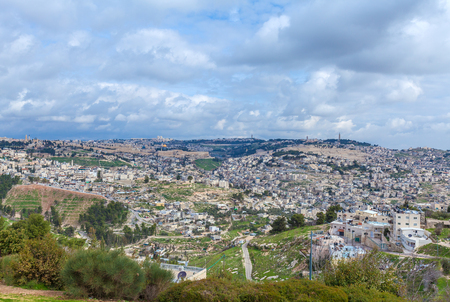 jewish home: Jerusalem Old City and Temple Mount, Israel