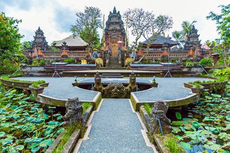 ubud: Lotus Temple with Pond, Ubud, Bali, Indonesia