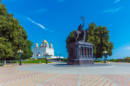 Dormition Cathedral (1160), UNESCO World Heritage Site, Vladimir
