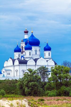 nerl: Holy Bogolyubovo Monastery with Cathedral of the Bogolyubskaya Icon (1866), Russia
