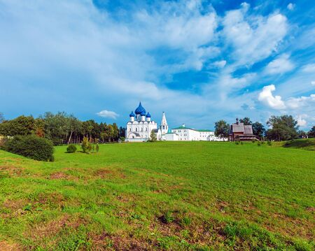 Cathedral of the Nativity of the Theotokos (1222),  Suzdal Kremlin, Russia