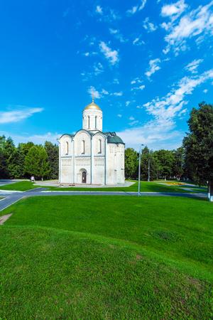 Cathedral of Saint Demetrius (XII c.), Vladimir Stock Photo