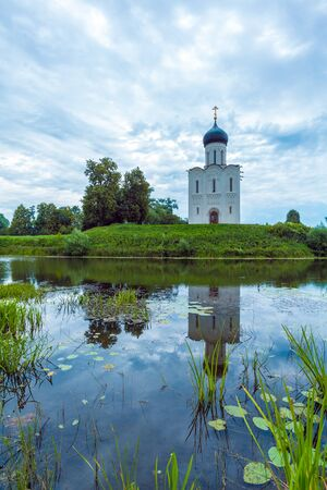 nerl river: Church of the Intercession on the Nerl (1165), Russia