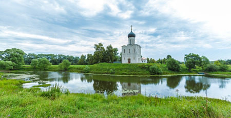 bogolyubovo: Church of the Intercession on the Nerl (1165), Russia