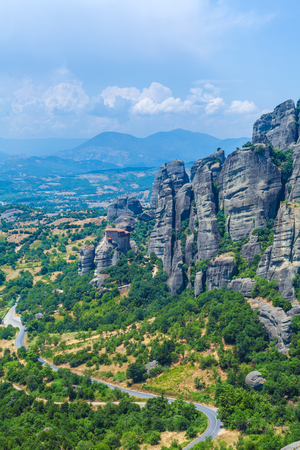 thessaly: The Holy Monastery of St. Nicholas Anapausas, Meteora, Thessaly, Greece