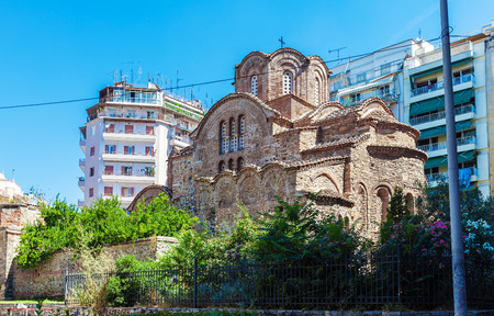 Church of Agios Panteleimon, Thessaloniki, Macedonia, Greece Editorial