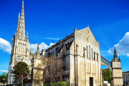 11th: Saint Andre Cathedral (11th-15th c.), Bordeaux, France Stock Photo