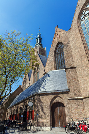 Great, or St. James Church on the Torenstraat in The Hague, Netherlands Stock Photo