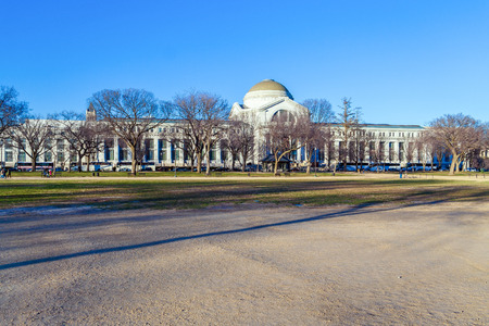 WASHINGTON DC, USA - JANUARY 27, 2006: National Museum of Natural History administered by the Smithsonian Institution