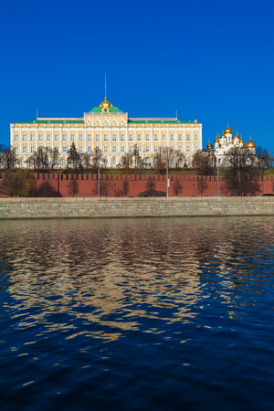 The Grand Kremlin Palace (1837-1844) by Konstantin Thon, Moscow, Russia Editorial