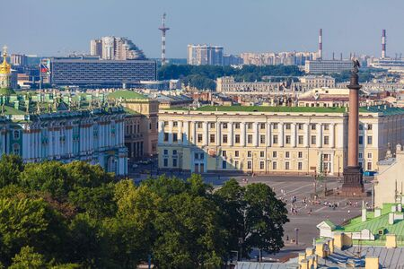 isaac: Aerial View from Isaac Cathedral, Saint Petersburg, Russia