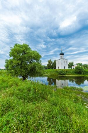 nerl: Church of the Intercession on the Nerl (1165), Russia