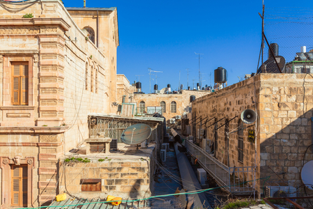 Old city roofs of Jerusalem, Israel