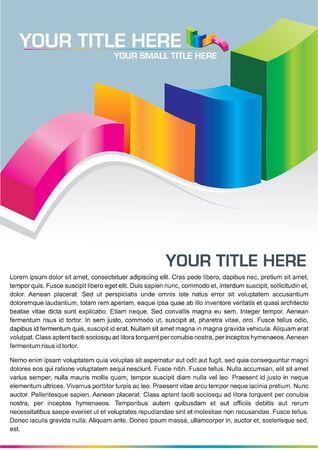 financial success: Business-Hintergrund mit Platz f�r Text