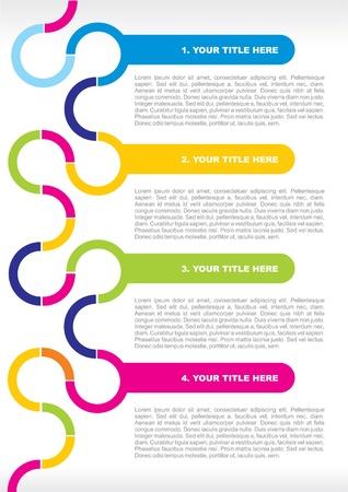 flyer background: achtergrondkleur voor een poster of brochure Stock Illustratie