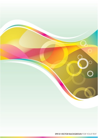 Background For Your Text Stock Vector - 10576711