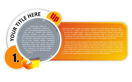 Background for magazine tips, reviews and other publications Vector