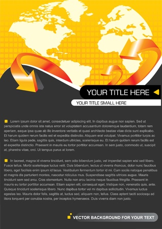 spedition: Vector Background For Your Text