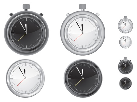 ilustration of Clock and Timer Vector