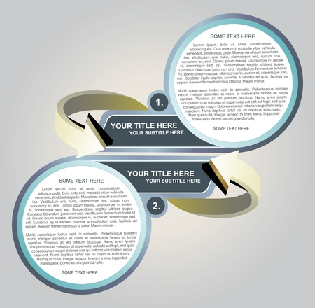 titles: Vector Abstract Background For Two Texts