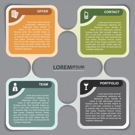 infographic background concept design