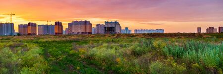 Natural background with condominiums, apartments, offices, shopping malls are blown through all the time, natural beauty that occurs naturally. Zdjęcie Seryjne