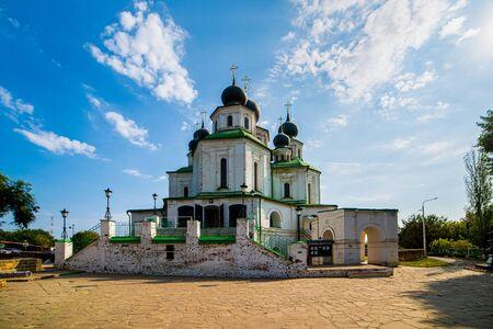 Historical Church, resurrection Cathedral in Starocherkassk. Historical landmark