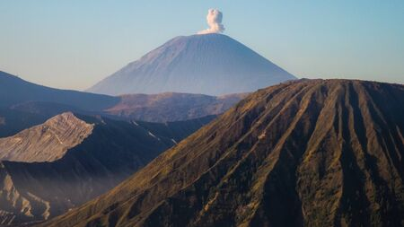 Volcanoes of Bromo National Park, Java, Indonesia.