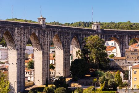 The Aqueduct Aguas Livres or Portuguese: Aqueduto das Aguas Livres or Aqueduct of the Free Waters is a historic aqueduct in the city of Lisbon, Portugal.