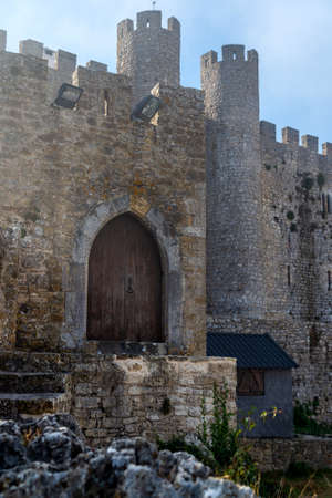 Medieval castle in the portuguese village of Obidos.