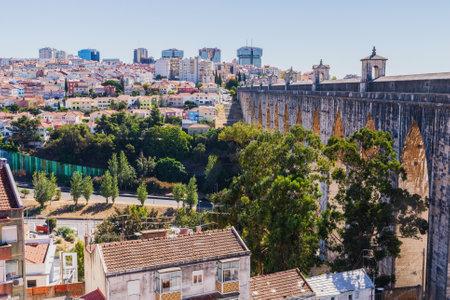 The Aqueduct Aguas Livres in Portuguese: Aqueduto das Aguas Livres Aqueduct of the Free Waters is a historic aqueduct in the city of Lisbon, Portugal.