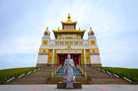 Burkhan Bakshin Altan Sume Buddhist complex Stock fotó