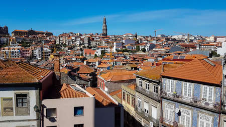 Aerial view of Porto in Portugal in a beautiful summer day. 版權商用圖片