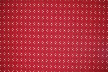 Red paper with polka dots