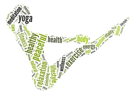 Health and fitness concept Yoga