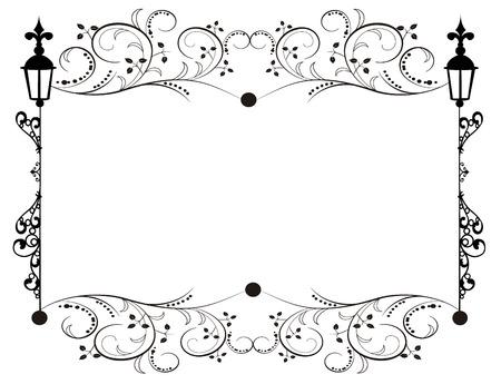 Vector image frame