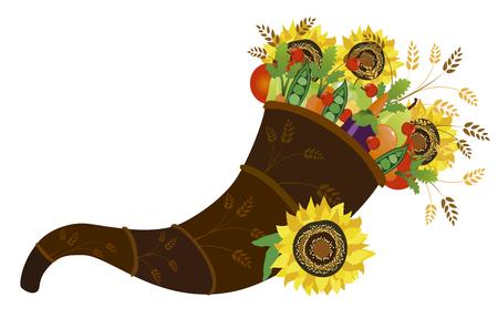 Cornucopia illustration