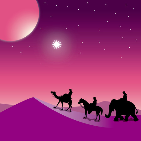 Christmas Nativity the Three Wise Men