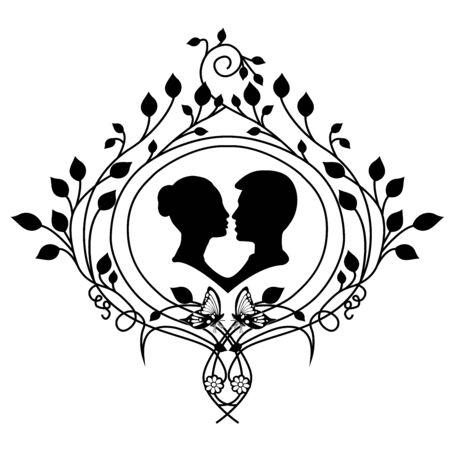 design element wedding and flourishes