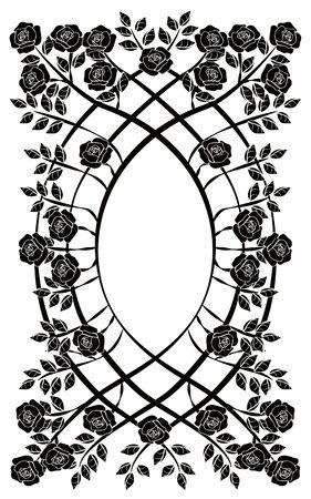 graphic element flourishes frame vintage 2 일러스트