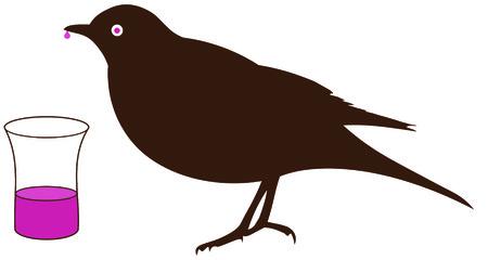 blackbird: Blackbird picia wódki ze szkła - Boozehound, pijak,
