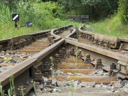 sleepers: Old Railroad Tracks - terminus