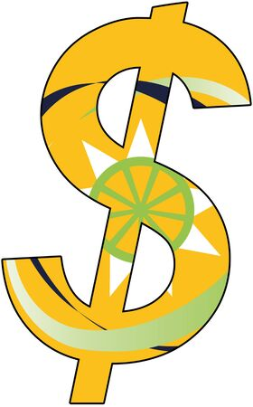 dollar with flag of the Organisation of Eastern Caribbean States, currency, valuta, anchor currency