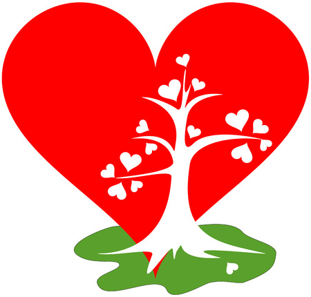 木のような強い愛 写真素材 - 53359336