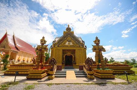 giants: Giants keeper temple gate Stock Photo