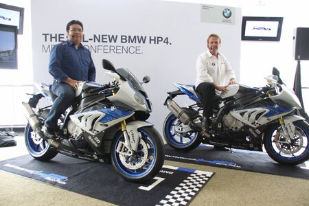 BMW HP4 launch in Malaysia at the Sepang International Circuit Editorial
