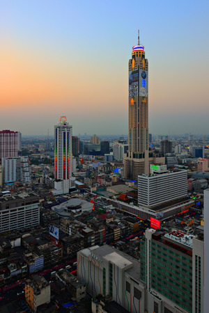 The most highest building in Thailand