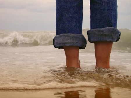 women s feet: woman foot Stock Photo