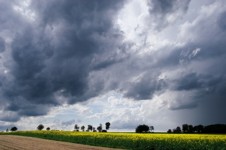 Stormy atmosphere Stock Photo