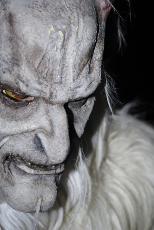 krampus masks Stock Photo